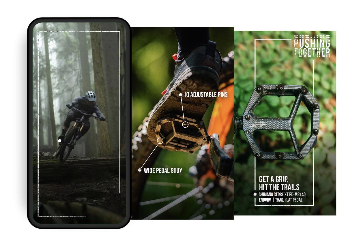 Shimano Pedals Social story